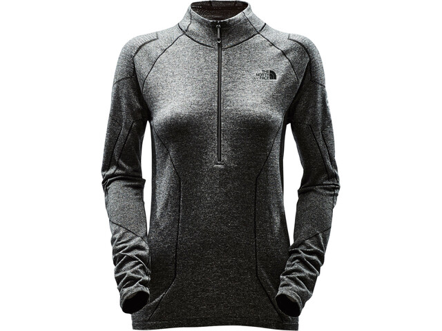 The North Face Summit L1 Top Dame tnf black heather